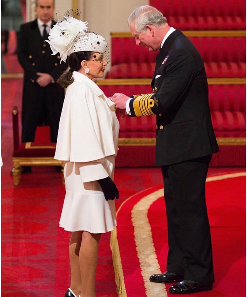 Dame Joan Collins & Prince Charles