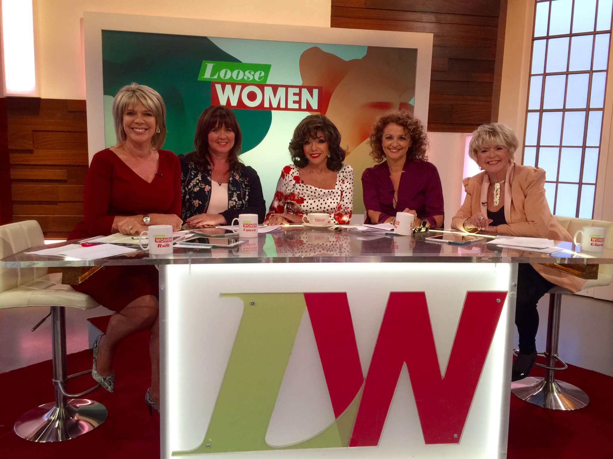 Makeup & Hair for Dame Joan Collins for Loose Women
