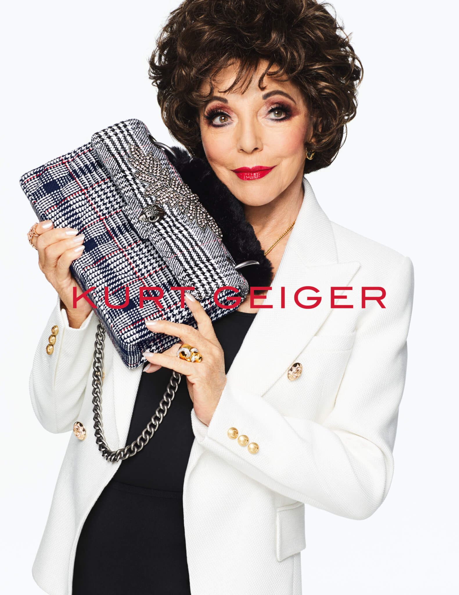 Joan Collins - Kurt Geiger