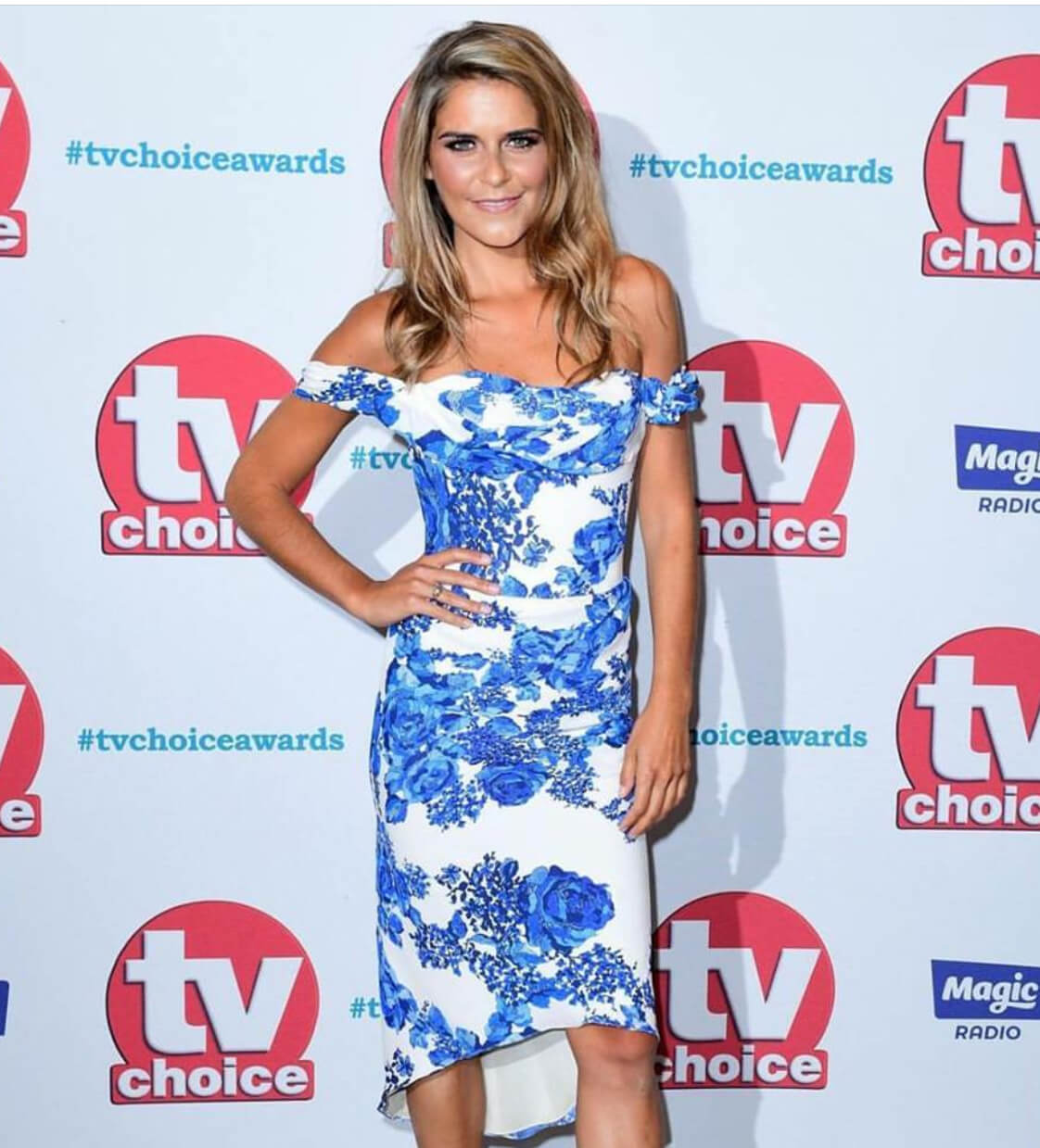 Makeup & Hair for Gemma Oaten for the TV Choice Awards